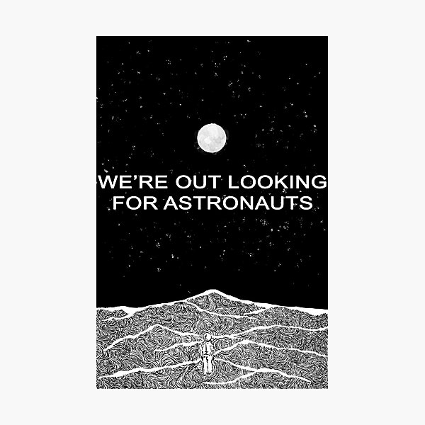 The National (Band) - Looking for Astronauts (Alligator) Photographic Print