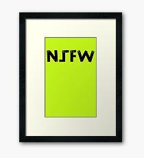 NSFW Framed Print
