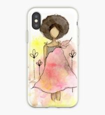 Splotch Girl - Freedom iPhone Case