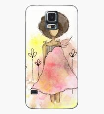 Splotch Girl - Freedom Case/Skin for Samsung Galaxy