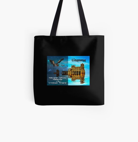 Hope You Hava A Great Day Granma All Over Print Tote Bag