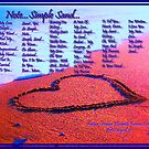 Note...Simple Sand... by Amber Elizabeth Fromm Donais