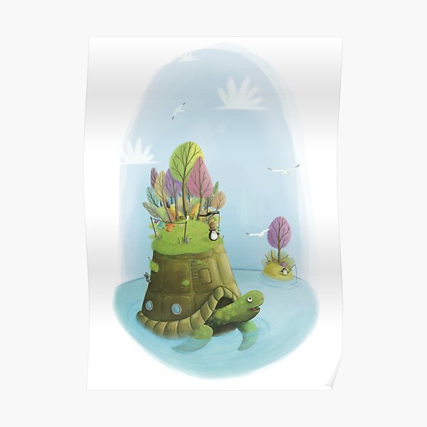 L'île Tortue Poster