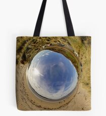 Lisfannon Beach, Fahan, County Donegal - Sky In Tote Bag