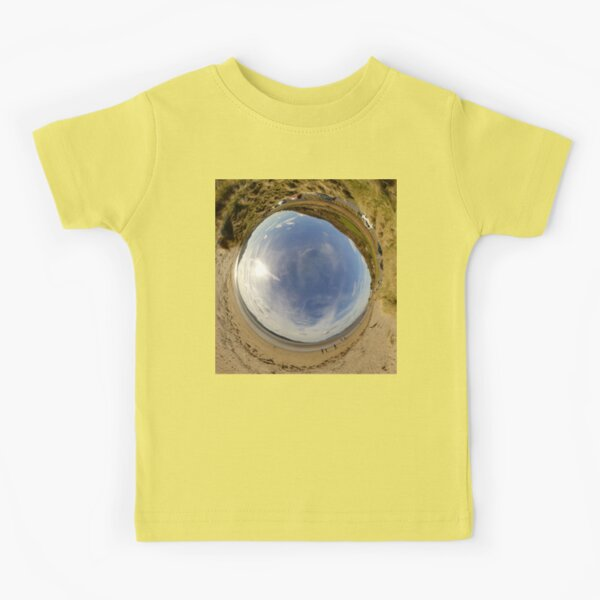 Lisfannon Beach, Fahan, County Donegal - Sky In Kids T-Shirt