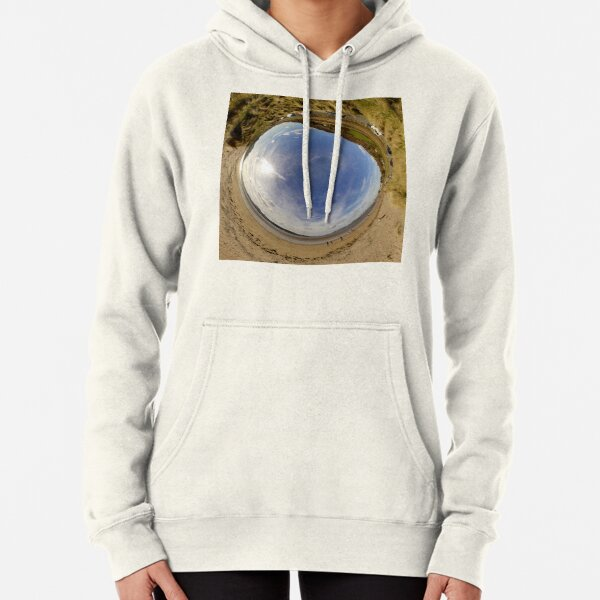 Lisfannon Beach, Fahan, County Donegal - Sky In Pullover Hoodie