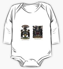 A Complete Guide to Heraldry - Plate IV - Arms of Swinton of That Ilk - Arms of Speke of Jordans One Piece - Long Sleeve