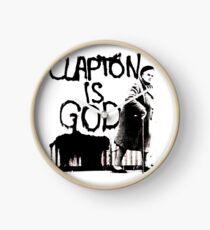 Clapton T-shirt   Clapton is God Clock
