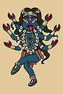 Kali Hindu Goddess of Destruction CHIBI MONSTER GIRLS Series I by angelasasser