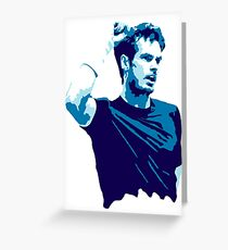 Andy Murray Greeting Card