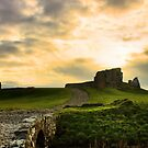 Duffus Castle by R Outram