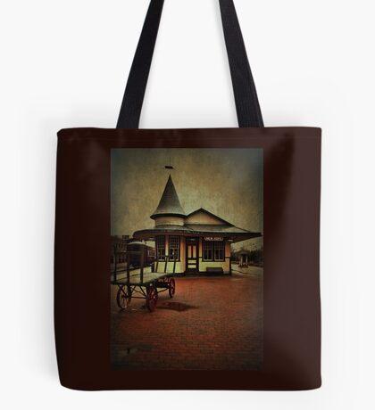 New Hope & Ivyland Railroad Station Tote Bag