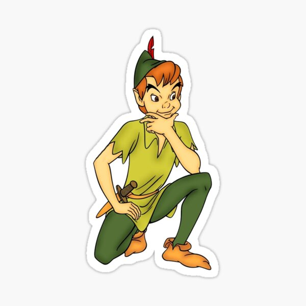 Peter Pan Pegatina