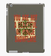 Beautiful Snowflake iPad Case/Skin