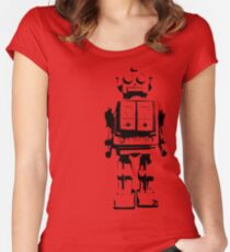 T i n M a n Women's Fitted Scoop T-Shirt