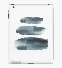 Ink Brush Block Stripes iPad Case/Skin