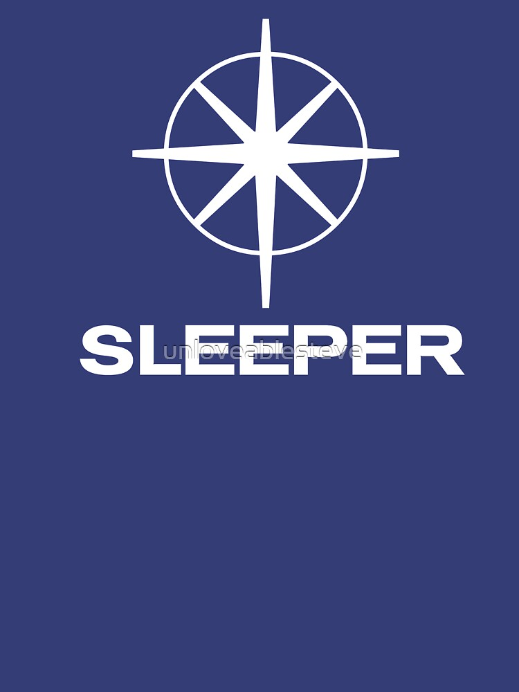 Sleeper (the band) Southern TV pastiche logo by unloveablesteve
