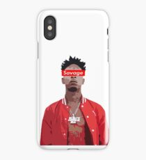 21 Savage cartoon iPhone Case