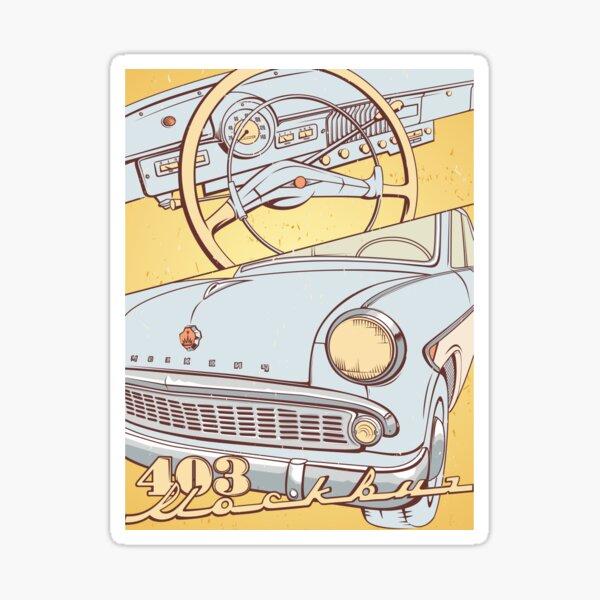 Moskvich 403 Sticker