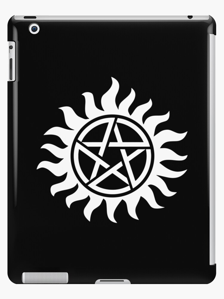 'anti possession, supernatural tattoo ' iPad Case/Skin by PineLemon
