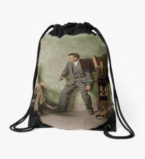 HARRIS & amp; EWING. POSING CLIFF BERRYMAN 1905 Drawstring Bag