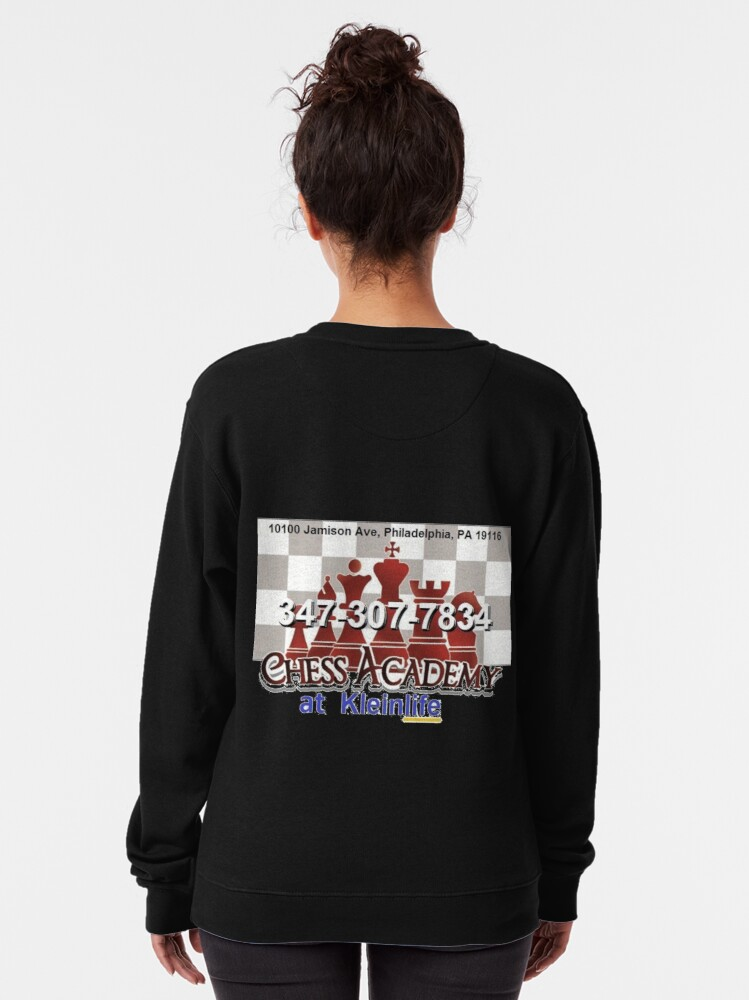 Alternate view of Chess Academy, Poster Pullover Sweatshirt