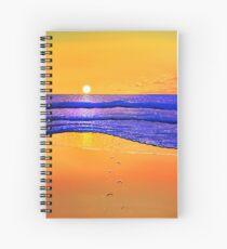 The Last Sunrise Spiral Notebook