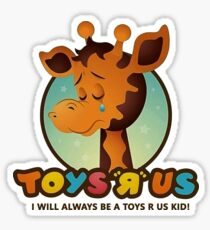 Toys R Us kids - RIP Sticker