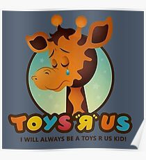 Toys R Us kids - RIP Poster