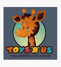 Toys R Us kids - RIP Photographic Print