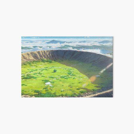 Kimi no na wa scenery Art Board Print