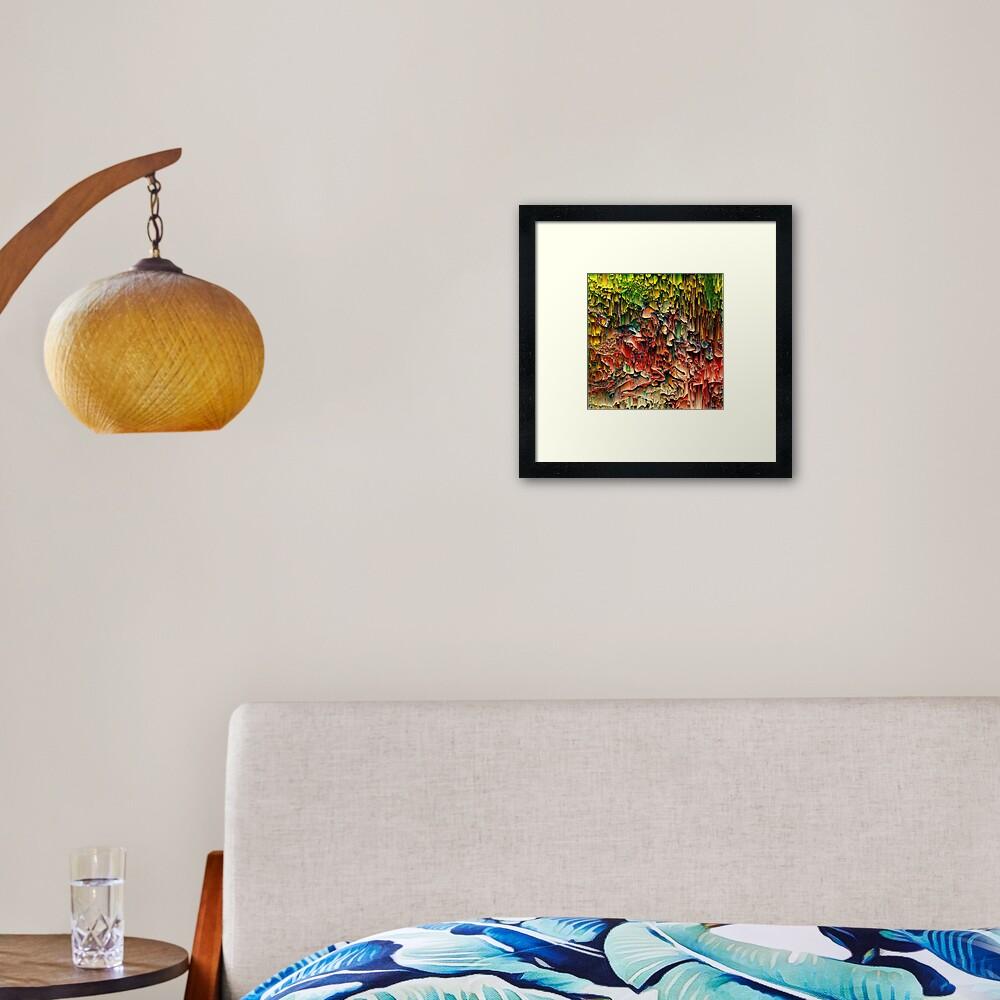 Intriguing - Pixel Art Framed Art Print