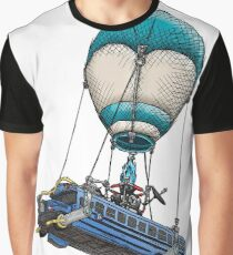 Fortnite Bus Drawing, Colored version Graphic T-Shirt