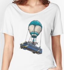Fortnite Bus Drawing, Colored version Women's Relaxed Fit T-Shirt
