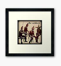 Beatles Meet The Residents Framed Print