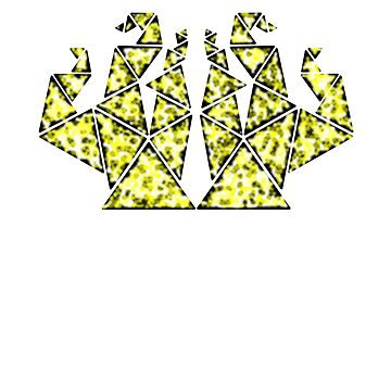 Triangles Yellow by JCS-Designs