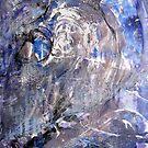One man, no man - Unus vir, Nullus vir, abstract painting by Dmitri Matkovsky