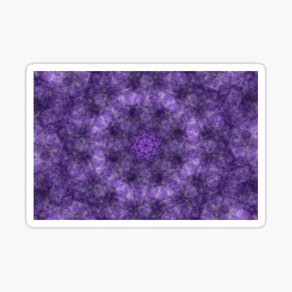 Purple Abstract  Sticker
