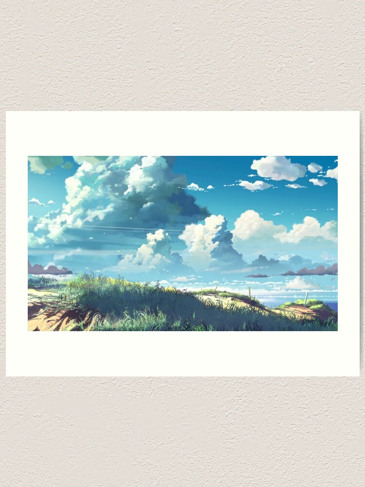 High Quality Prints 5 Centimeters Per Second Poster