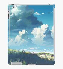 5 Zentimeter pro Sekunde Landschaft iPad-Hülle & Skin
