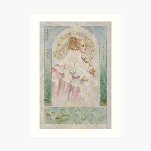 Mathilde Memoriam Art Print