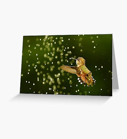 TINY BUBBLES....A Greeting Card