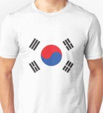 South Korea Flag For Korea Enthusiast Unisex T-Shirt