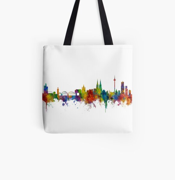 Cologne Germany Skyline Tote Bag