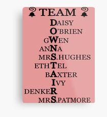 Team Downstairs (Girls) Metal Print