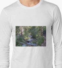 calvin and hobbes forest Long Sleeve T-Shirt