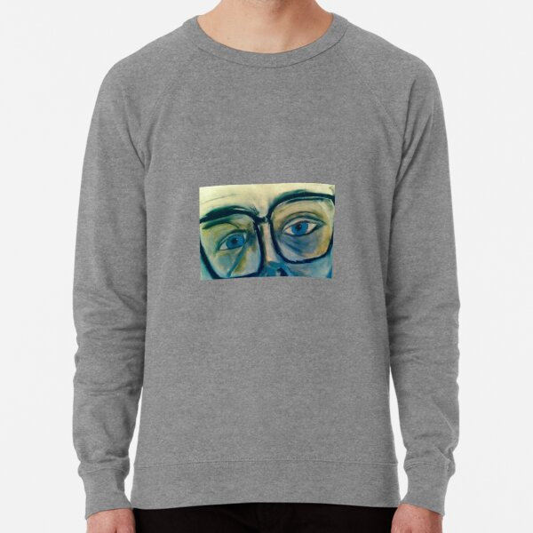 Stare from the man at the theatre Lightweight Sweatshirt