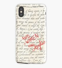 Include Women in the Sequel iPhone Case