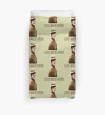 I Love A Man In Uniform Duvet Cover