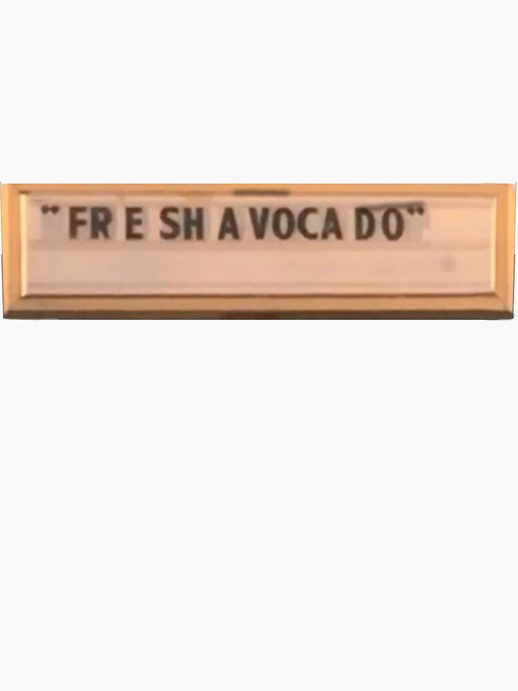 Fre Sha Vocado (Fresh Avocado) Vine by Scott-Scheun